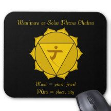 Manipura or Solar Plexus Chakra Mousepad