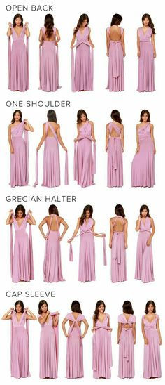 Bought one of these dresses and now I'm just pinning all the different ways to wear it ;)