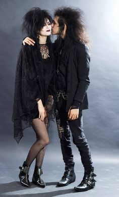 Deathrock Fashion, Punk Fashion, Gothic Fashion, Fashion Models, Goth Boy, Punk Goth, 80s Goth, Vintage Goth, Edgy Outfits