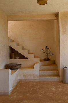 lime washed walls