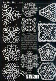 Crochet: crochet motifs