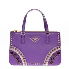 discounted prada handbags - Prada Studded Saffiano Leather Flap Bag | Prada, Shades Of Red and ...