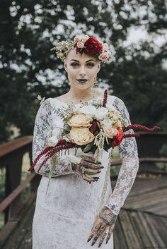 Bald Bride with Alopecia, by Sandrachile