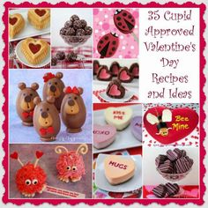 35 Cupid Approved Valentine's Day Recipes and Ideas. Adorable and fun, savory and sweet, these treats are sure to hit the target with your loved ones this holiday.