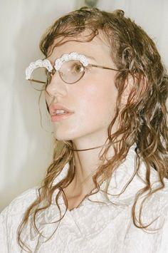 Simone Rocha SS15, womenswear, Dazed backstage