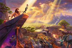 The Lion King | The Thomas Kinkade Company