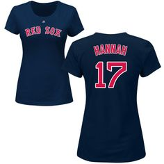 270f8cca7 Women s Boston Red Sox Majestic Navy Custom Roster Name   Number T-Shirt