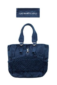 Porter Classic - CANVAS NET TOTE BAG - BLUE Porter Classic, Blue Bags, Gym Bag, Indigo, Tote Bag, Canvas, Bag Design, Accessories, Fashion Brands