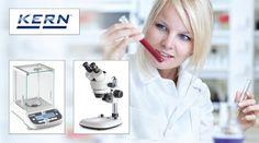 Promoție Kern balanțe și microscoape utilizate în industria farmaceutică Control