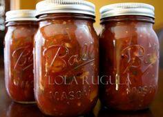 Tomato Salsa Canning, Tomato Salsa Recipe, Fresh Tomato Recipes, Fresh Tomato Salsa, Canning Water, Canning Tips, Salsa Canning Recipes, Canned Salsa Recipes, Chili Sauce Recipe Canning