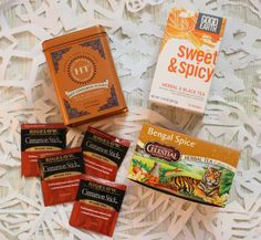 Forever and Always - Blog Post Time to Steep #2 Warm & Cozy. Bengal Spice, Sweet & Spicy, Cinnamon Stick, Hot Cinnamon Sunset Tea Review
