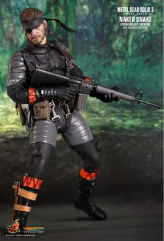 Hot Toys : Metal Gear Solid 3: Snake Eater - Naked Snake (Sneaking Suit Version) 1/6th scale Collectible Figure