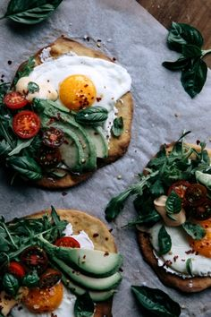 🤗✨ crispy buckwheat breakfast flatbreads 🍅🍳🥑 I've linked the RECIPE for these in my BIO - they are also of course not limited to… Egg Recipes, Brunch Recipes, Breakfast Recipes, Breakfast Ideas, Savory Breakfast, Perfect Breakfast, Buckwheat Recipes, Vegetarian Recipes, Healthy Recipes