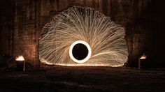 The Portal Sadly there's been lots of reports of steel wool photography destroying historical landmarks so be safe when you do it. Do it after rain and have sand and concrete as a location instead of dry wood! And if you have to do it remember the fire extinguisher.