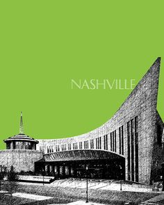 Country Music Hall of Fame Fine Art Print