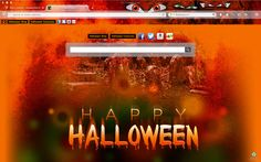 2014 Halloween Browser Theme for Apple Safari browsers.