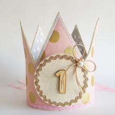 omkeerbare kroon (roze/grijs/wit/goud)