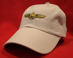 ba101ac2b2d Pilot Ball Caps sells quality Naval Aviation wings hats online - Pilot and  Air Crew wings from the Navy