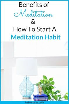 Want to know how to start meditation habit? Learn the benefits of meditation and how to practice meditation. Guided Mindfulness Meditation, Meditation For Anxiety, Mindfulness Exercises, Easy Meditation, Meditation For Beginners, Mindfulness Activities, Meditation Benefits, Meditation Techniques, Meditation Music