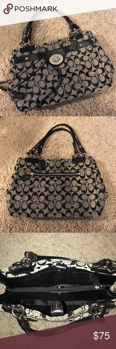 Coach Purse and Matching Wristlet/Wallet coach medium sized handbag with matching wristlet/wallet. both are in great condition! Coach Bags