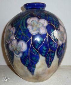 1000 images about vases tharaud limoges france on pinterest vase porcelain vase and art deco. Black Bedroom Furniture Sets. Home Design Ideas