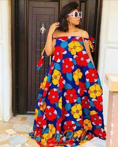 African print dress off shoulder maxi dress/Ankara/African Clothing/African Fashion/Ankara Clothing/ African Fashion Ankara, Latest African Fashion Dresses, African Dresses For Women, African Print Dresses, African Print Fashion, African Attire, African Women, Africa Fashion, African Prints