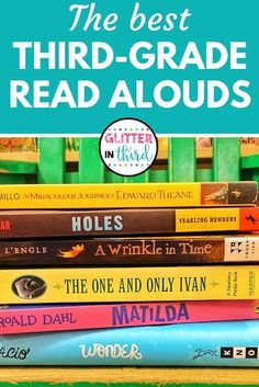 The best read alouds for grade. Visually see a child's love of reading right in front of your eyes. There is no reason NOT to do a read aloud with older students! Check out this list of the best read aloud chapter books for third grade students. 3rd Grade Chapter Books, 3rd Grade Writing, Third Grade Reading, Third Grade Art, 3rd Grade Math, 3rd Grade Book List, 3rd Grade Common Core Reading, Grade 3 Art, Third Grade Science