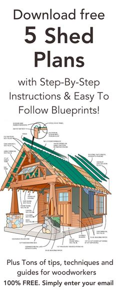 DIY shed plans - Easy and fun weekend building tips. DIY shed plans - Easy and fun weeken