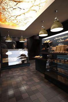 Int rieur de boulangerie sur pinterest conception for Amenagement interieur metier
