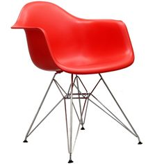 Poet Armchair Red