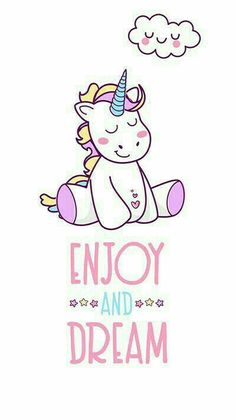 unicorn, wallpaper, and Dream image - Kawaii Unicorn - İmages Real Unicorn, Unicorn Art, Rainbow Unicorn, Unicorn Drawing, Unicorn Crafts, Unicorn Outfit, Unicornios Wallpaper, Heart Wallpaper, Unicorn Quotes