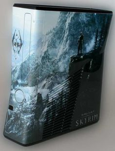 Skyrim Xbox. I don't usually like skins, or ever  want to put one on mine. But I love this!