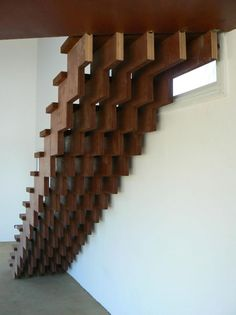 #architecture #stairs #wood