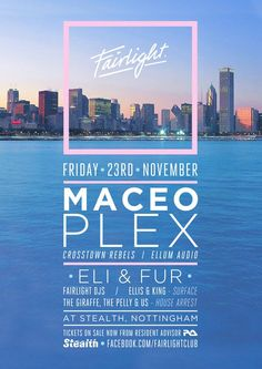 View the Fairlight with Maceo Plex flyer