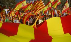 FOX NEWS: Hundreds of thousands rally in Barcelona for Spanish unity
