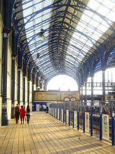 The photo-essay Urban Farming in London and Havana is presented alongside the eastern platforms of Brighton Railway. Brighton Rock, Brighton Sussex, Brighton England, Brighton And Hove, British Rail, Urban Farming, Train Tracks, Countryside, The Good Place