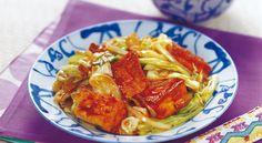厚揚げの回鍋肉風 レシピ | ボブとアンジー