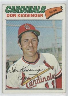 Don Kessinger COMC REVIEWED Good to VG-EX St. Louis Cardinals BB (Baseball Card) 1977 Topps #229 by Topps. $0.65. 1977 Topps #229 - Don Kessinger COMC REVIEWED Good to VG-EX