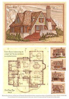 House 301 Storybook Cottage by Built4ever.deviantart.com on @DeviantArt