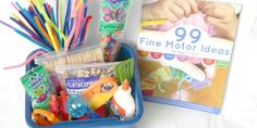 Looking for a creative gift for your child's teacher or caregiver? Or how about a fellow mom with young children? Make this DIY Fine Motor Kit!
