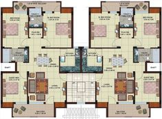 multi unit 2 bedroom condo plans - Google Search