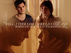 It was nice knowing me, Miss Steele? #FiftyShades