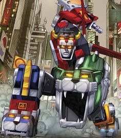 With the upcoming cartoon and a feature film in the works, now is the perfect time to launch a Voltron comic book for a new era, which will feature amazing Alex Ross covers!