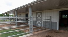Discover Morton horse barns. Customized to fit the needs of any horse owner and dedicated to creating a safe, attractive environment for the horse.