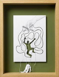 Les incroyables oeuvres en papier de Peter Callesen | Buzzly