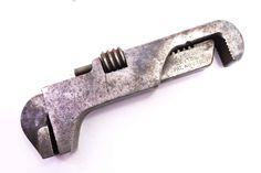 "J H Furguso 5"" long double head wrench, patent 1910. $95"