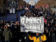 Natale Trista a Parigi 2017 Funaral Jhonny hallyday