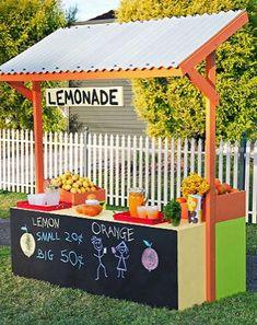 10 Summer Fun DIY Lemonade Stands