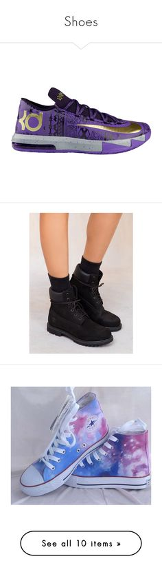 """""""Shoes"""" by guezzwat ❤ liked on Polyvore featuring shoes, kd, sneakers, boots, black, water proof boots, faux-fur boots, faux-leather boots, genuine leather boots and leather boots"""