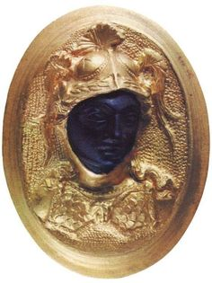 Athena.Garnet in the gold ring. East Mediterranean. Late 4th — early 3rd century B.C.E., .Saint-Petersburg - M